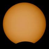 Éclipse solaire illustration libre de droits