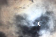 Éclipse 2017 solaire Photographie stock