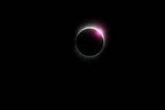 Éclipse solaire du Yang Tsé Kiang 2009 Images stock