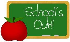 École à l'extérieur Image libre de droits