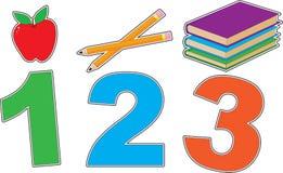 École 123 Photo stock