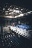 École abandonnée Photos stock