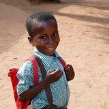 école africaine de garçon photographie stock