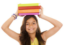 école allante d'enfant aux jeunes Images libres de droits