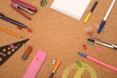 école d'accessoires Photo libre de droits
