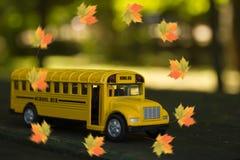 École d'autobus Photos stock