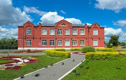 École d'enseignement secondaire principale numéro 3 Photos stock