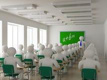école d'intérieur de classe Photo stock