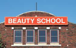 École de beauté, l'indépendance, MOIS Image libre de droits