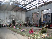 École de Beslan Photographie stock