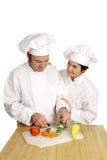 École de chef - encouragement Image libre de droits