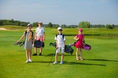 École de golf photos stock
