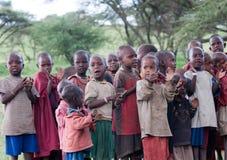 École de masai Images stock