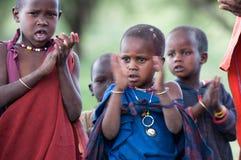 École de masai Image libre de droits