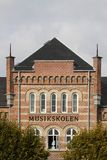 École de musique d'Aarhus Photo libre de droits