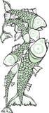 école de poissons Images libres de droits