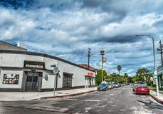 École de roche dans le secteur de Fairfax image stock