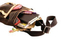 école de sac Photo stock