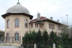École de tabouret, école primaire d'Ebussuut Image stock