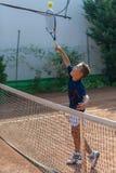 École de tennis Photographie stock