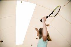 École de tennis Photos libres de droits