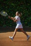 École de tennis Image stock
