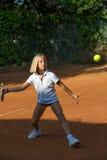 École de tennis Image libre de droits