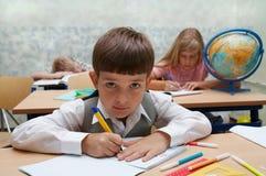 École. Différents caractères Images stock