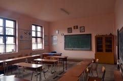 École en Roumanie Photographie stock