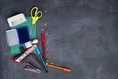 École et bureau stationnaires Image stock