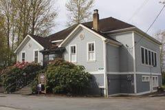 École historique de Clayburn Photo libre de droits