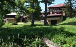 École II de maison de Hillside photographie stock libre de droits