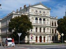 École juridique, Kromeriz, République Tchèque Image stock