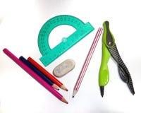 École, kit d'étude Photo libre de droits