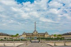 École militaire de Cavalerie à Paris, France Photos libres de droits
