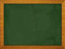 école noire de vert de panneau du tableau noir 2 3 Images stock