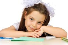 École primaire d'écolière Images libres de droits