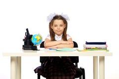 École primaire d'écolière Photographie stock