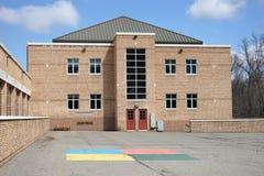 École primaire de DeFranco à Bangor Pennsylvanie image libre de droits