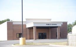 École primaire primaire et secondaire publique Photographie stock