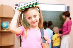 Écolière Photo libre de droits