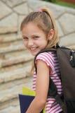 Écolière Photos libres de droits