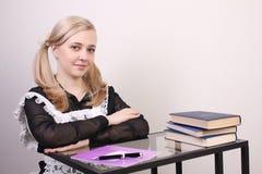 Écolière Image libre de droits