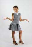 Écolière avec du charme Images libres de droits