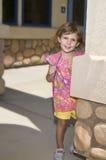 Écolière avec le crayon photographie stock libre de droits