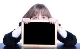 Écolière et conseil Image libre de droits