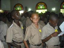 Écoliers Images libres de droits