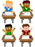 Écoliers illustration stock