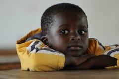 Écoliers africains Image libre de droits