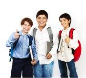 Écoliers heureux Image libre de droits